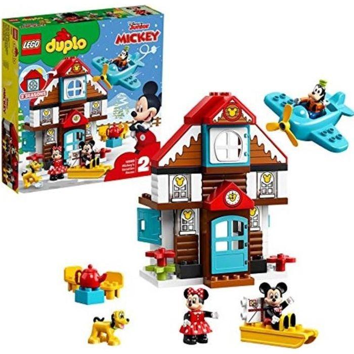 Jeu D'Assemblage N9MYU 10889 jouets de maison de vacances disney mickey disney, jeu de construction pour les tout-petits de 2 ans av