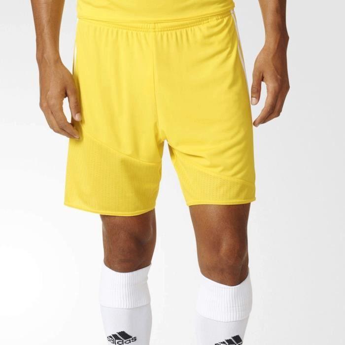 Short Homme adidas REGI 16 jaune arbitre AP0548