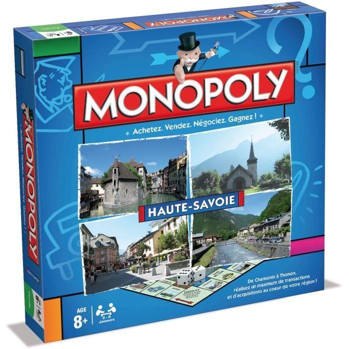 MONOPOLY Haute-Savoie - Jeu de societé - Version française