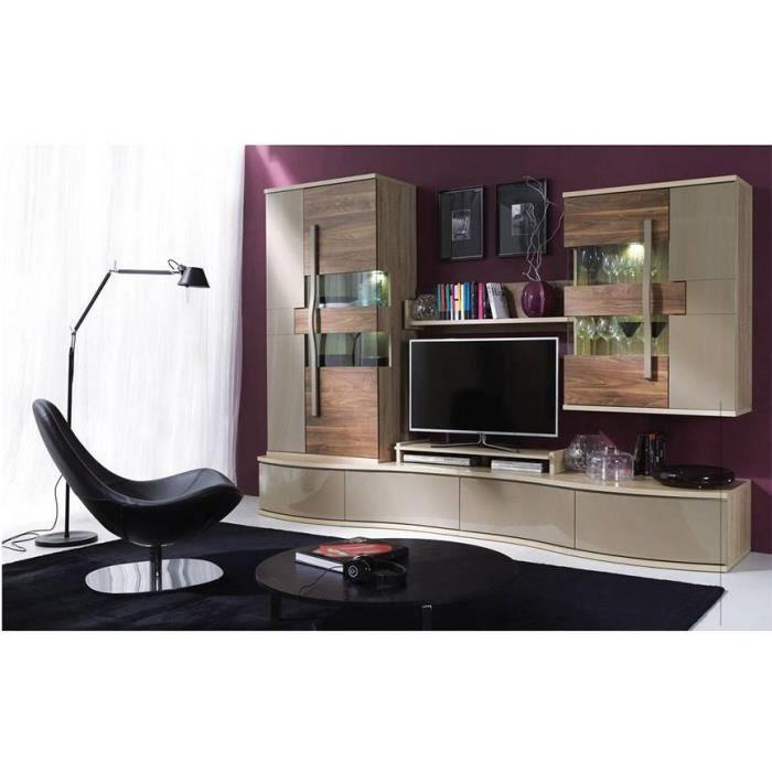 MEUBLE TV Meuble TV CHANELL 280 cm - Ensemble meuble TV