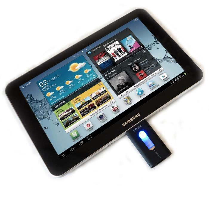 Cl usb 32 gb pour tablette samsung galaxy tab 2 achat - Tablette tactile avec port usb ...
