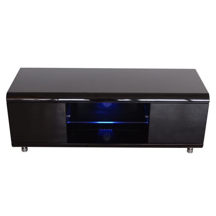 meuble tv noir laqu diana achat vente meuble tv meuble tv noir laqu diana cdiscount. Black Bedroom Furniture Sets. Home Design Ideas