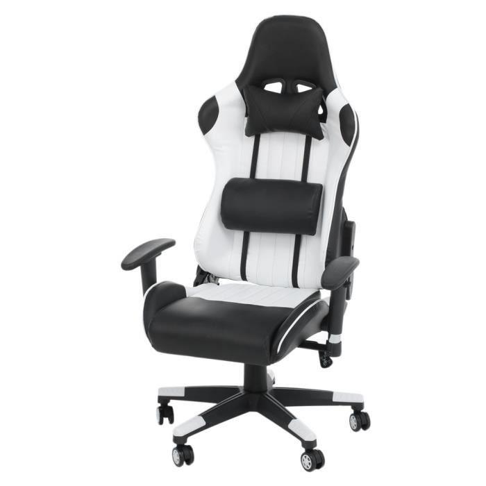 CHAISE DE BUREAU Chaise de gaming fauteuil de bureau 360 degree rot