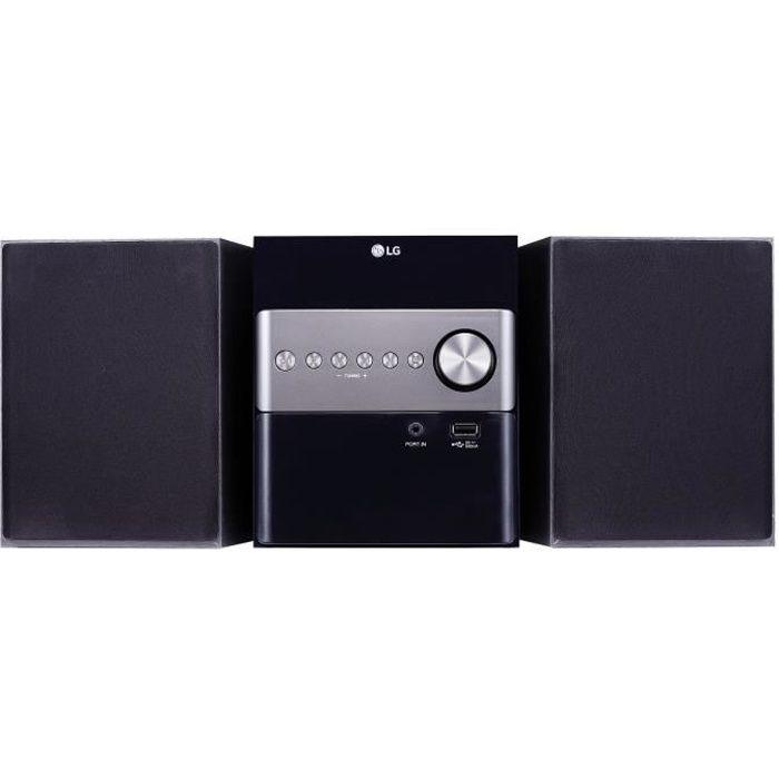 CHAINE HI-FI LG CM1560 - Micro Chaîne HiFi Bluetooth / USB