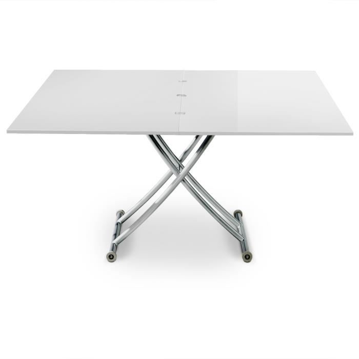 Table basse relevable carrera xl blanc laqu achat - Table basse relevable cdiscount ...
