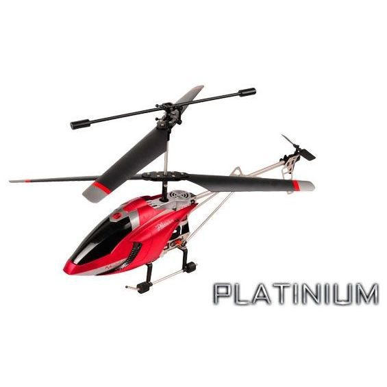 H licopt re h platinium 2 4ghz rouge achat vente avion for Helicoptere interieur