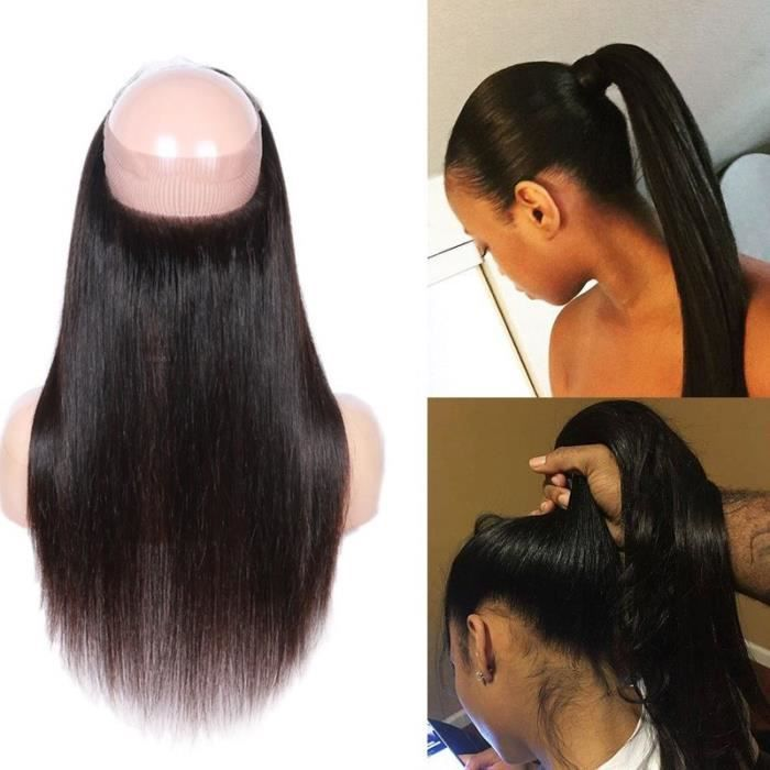 Lace Frontal Band Closure Bresilienne Lisse