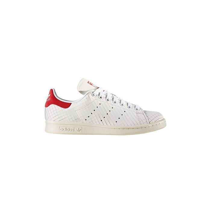 Adidas Stan Smith W ZC5WU Taille-40 1-2 Rouge - Achat ...