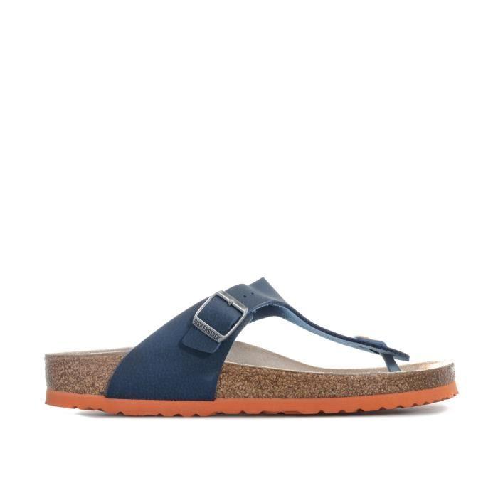 Sandales Birkenstock Gizeh pour homme en bleu foncé Bleu