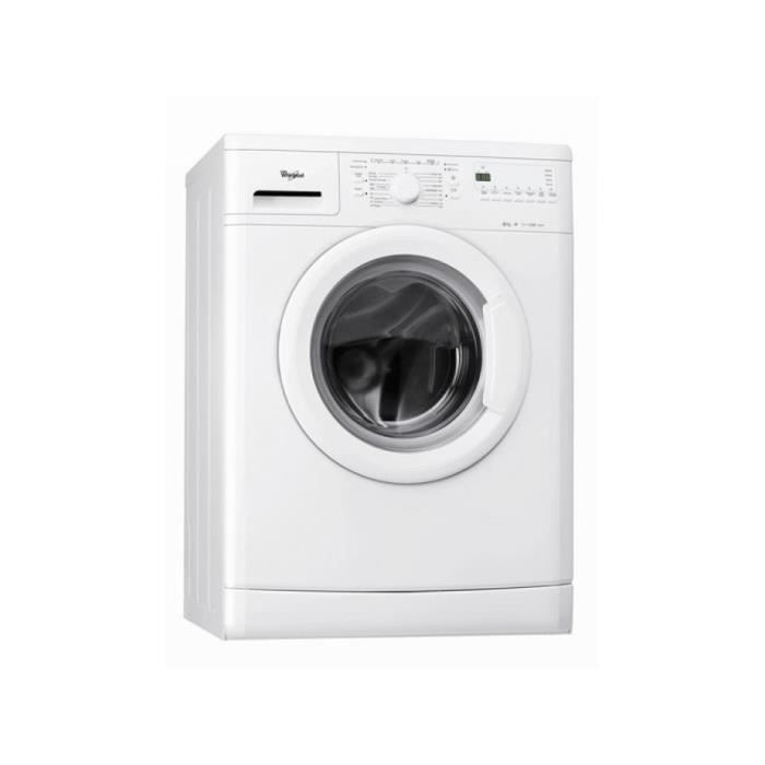 whirlpool awod2821 01 lave linge frontal achat vente lave linge cdiscount