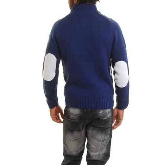Achat Pull Col Marine Vente Boutons Homme Montant xBdoreWC
