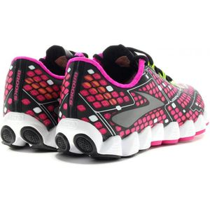 new style 0af6b 1adb6 ... CHAUSSURES DE RUNNING BROOKS Chaussures de Running Neuro Femme Rose et  N. ‹›