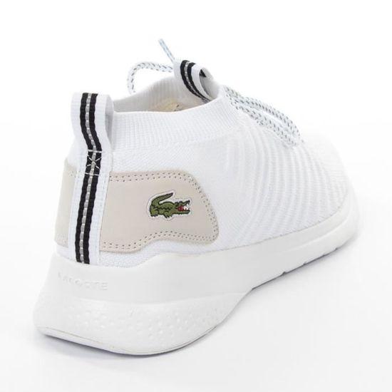 Basket - Lacoste - Basket Lacoste LT FIT-FLEX 120 1 Blanc - Achat