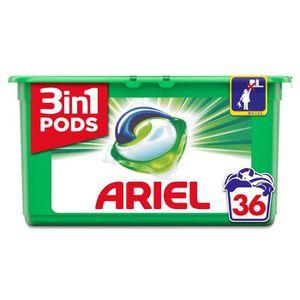 LESSIVE ARIEL Lessive en capsules Original - 36 lavages