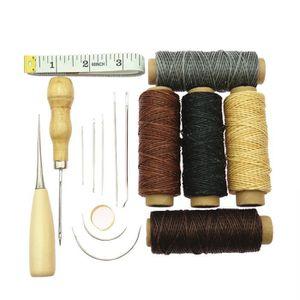 du cuir outil de réparation de chaussures trousse de seringues la couture alêne