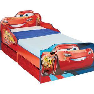LIT EVOLUTIF Disney Cars - Lit pour enfants avec espace de rang