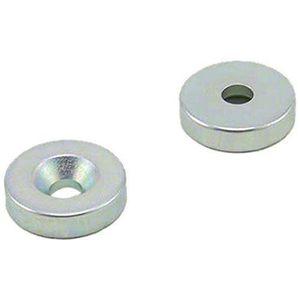 12mm de diam/ètre x 21 mm de haut Bureau et r/éfrig/érateur paquet de 12 Magnet Expert Blanc Quille Aimant