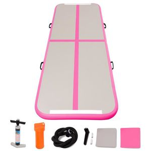 TAPIS DE SOL FITNESS Airtrack Tapis Gonflable 300 x 100 x 10CM Tumbling
