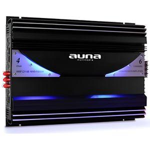 AMPLIFICATEUR AUTO auna - Ampli de voiture 3 a 6 canaux pour sono aut