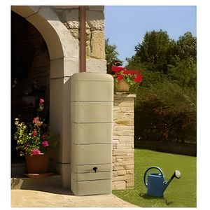 COLLECTEUR EAU - CUVE  Récupérateur d'eau de pluie DECO - 300 Litres - Be