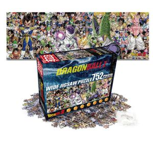 PUZZLE 752 PCS Puzzle Anime Dragon Ball Z Super La façon