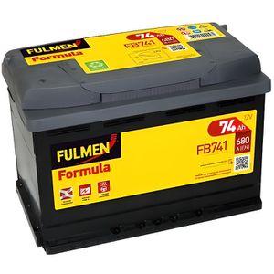 BATTERIE VÉHICULE Batterie voiture FB741 12V 74Ah 680A - Batterie(s)