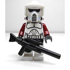 ASSEMBLAGE CONSTRUCTION Jeu D'Assemblage LEGO MH6DV star wars: arf trooper