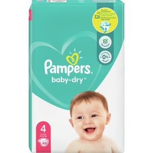 COUCHE Pampers Baby-Dry Taille4, 46Couches