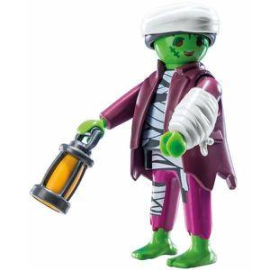 FIGURINE - PERSONNAGE Figurine Playmobil Serie 11 garçon: Le monstre mom