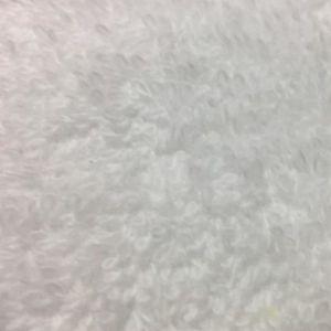 TISSU Tissu Eponge Bouclette Blanc - Tissu au mètre - Qu