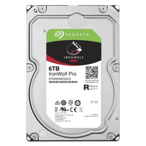 DISQUE DUR INTERNE SEAGATE NAS HDD IronWolf Pro 6To - 3.5