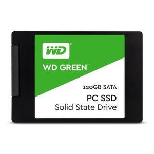 DISQUE DUR SSD Western Digital Green SSD 120 Go 2,5