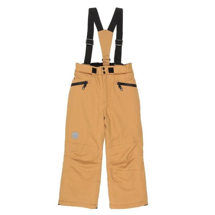 COLOR KIDS Pantalon de Ski Sanglo Marron