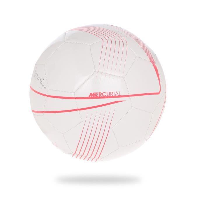 NIKE Ballon de football MERCURIAL FADE - Blanc/Rouge/Violet