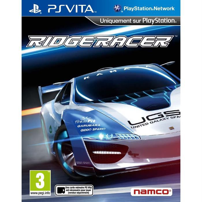 ridge racer jeu ps vita achat vente jeu ps vita ridge racer jeu psvita cdiscount. Black Bedroom Furniture Sets. Home Design Ideas