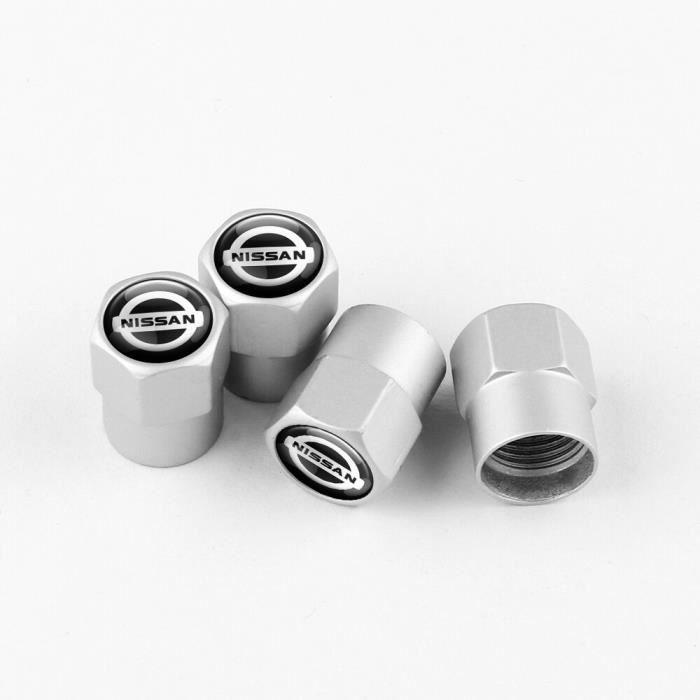 Bouchons de Valve de pneu de voiture, couvercle de Valve de tige de roue, pour Nissan Qashqai J10 2006 – 2013 Nismo [30768E6]
