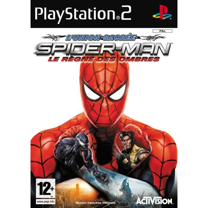 spiderman regne des ombres jeu console ps2 achat vente jeu ps2 spiderman regne des. Black Bedroom Furniture Sets. Home Design Ideas