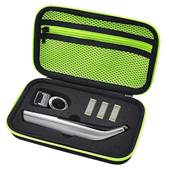 Rasoir Electrique I3BJQ Étui rigide pour Philips Norelco Oneblade Pro QP6520 - 70, sac de rangement pour housse de protection de voy