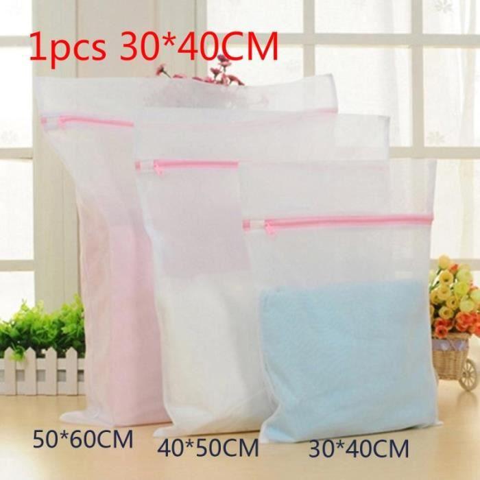 Filet De Lavage,Vêtements Machine à laver sac à linge soutien gorge aide Lingerie maille filet lavage sac pull - Type 01-1 PC