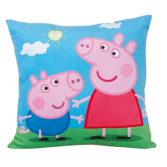 PEPPA PIG Coussin carrée