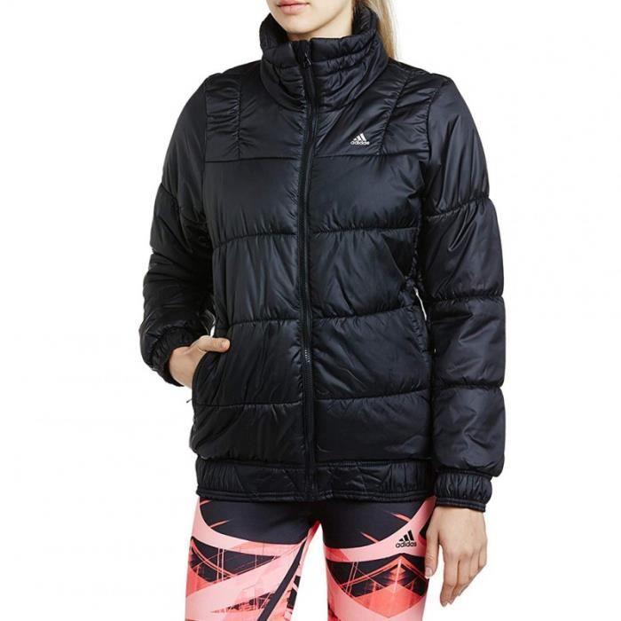 J P LT JACKET BLK - Doudoune Femme Adidas