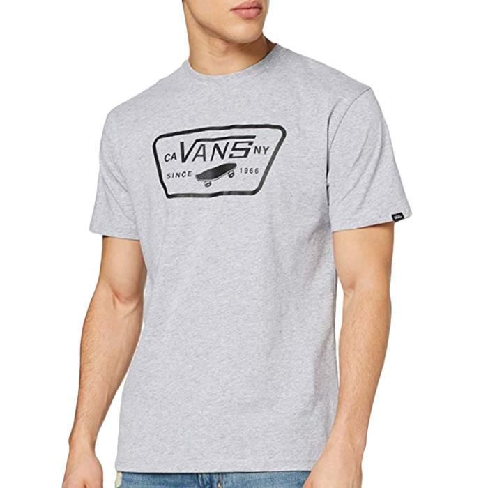 Vans Full Patch Homme T-shirt manches courtes col rond logo - -