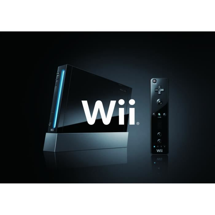 Console WII Noire !