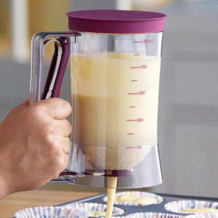 Gâteau Pancake Batter crème Distributeur entonnoir outil Cuisson Batter Dispenser