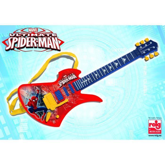 SPIDERMAN Guitare 6 cordes