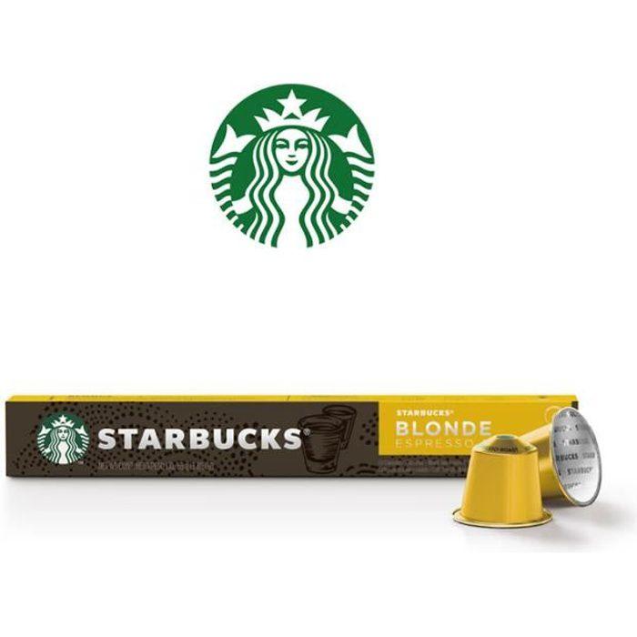 STARBUCKS Capsules Nespresso Blonde Espresso Roast x 10 - 53 g