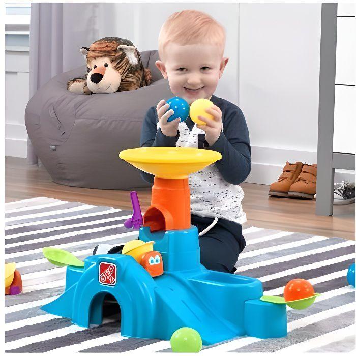 STEP 2 Tour tunnel Ball Buddies plastique jouet d'activité enfant bébé 6 mois