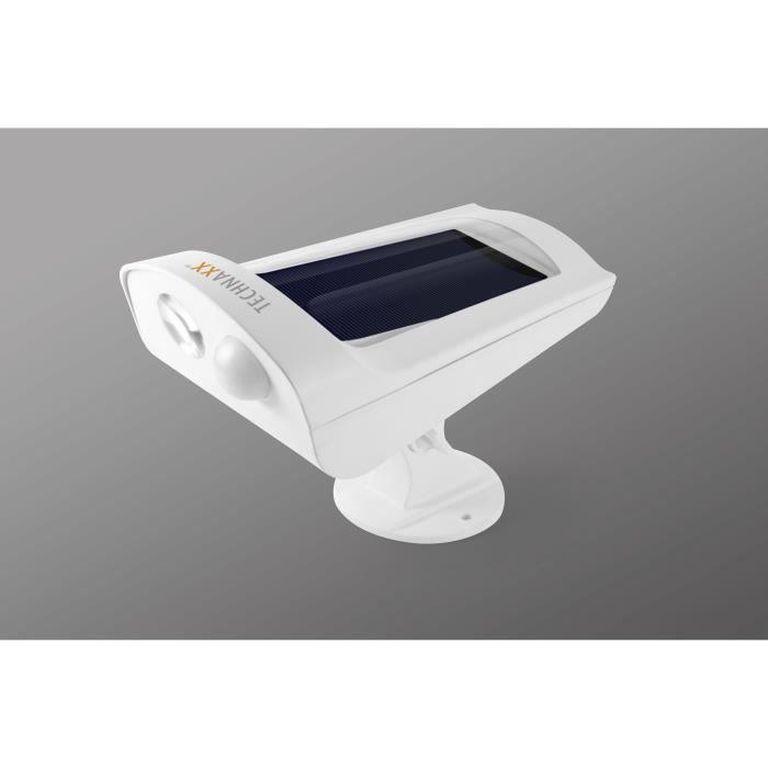 Lumière solaire à LED avec détecteur de mouvement, 140 lumens
