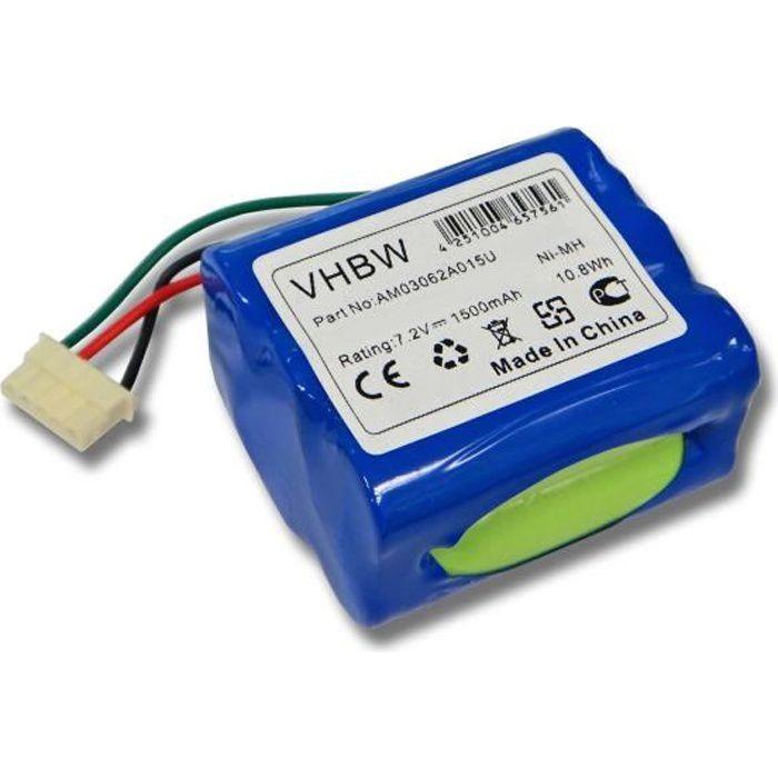 Batterie de remplacement pour robot de nettoyge, aspirateur iRobot Braava 380, Braava 380T, iRobot Mint Plus 5200, Plus 5200C - R…