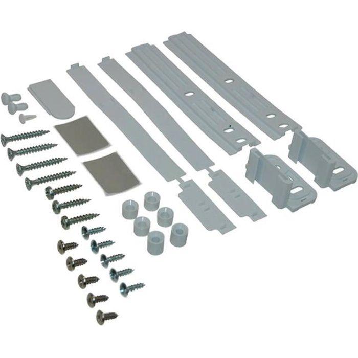 Kit de fixation (glissières) porte pour Refrigerateur WHIRLPOOL